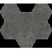 Шарм Эво Антрачит / Charme Evo Antracite Mosaico Gexagon 290 х 250