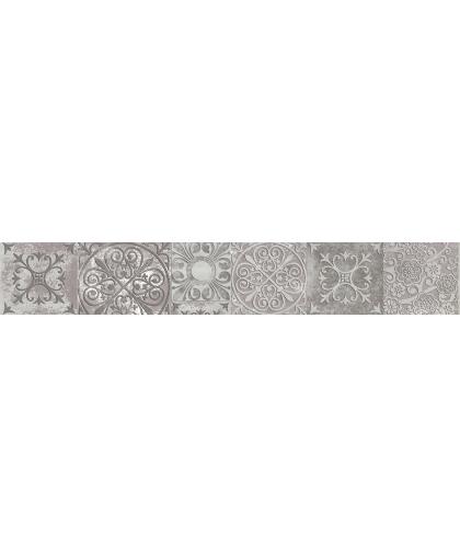 Amalfi / Амалфи серый бордюр 600 х 95