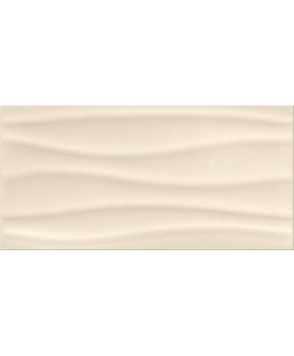 Бейсик палет / Basic Palette beige glossy wave 600 х 297 (остаток)