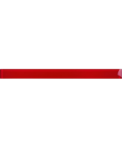 Glass red border 48 х 600 (остаток)