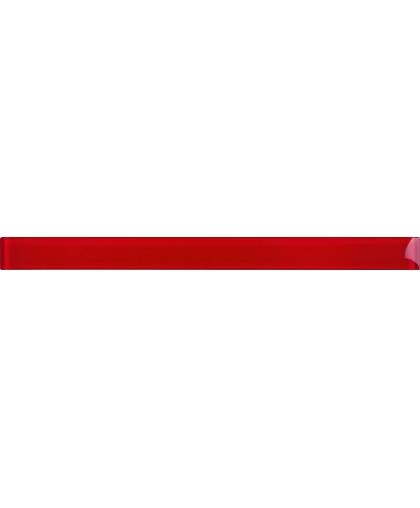 Glass red border 48 х 600