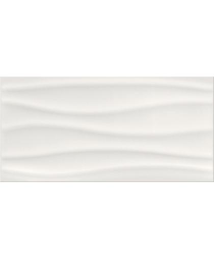 Бейсик палет / Basic Palette white glossy wave 600 х 297