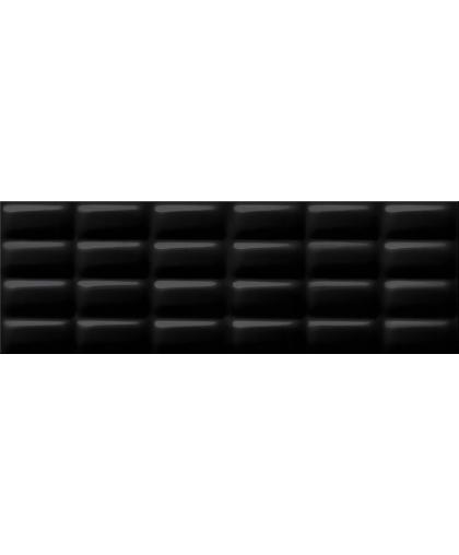 Black glossy pillow 750 х 250