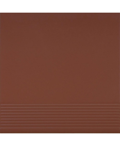 Бургунд / Burgund tread tile (ступень простая) 300 х 300