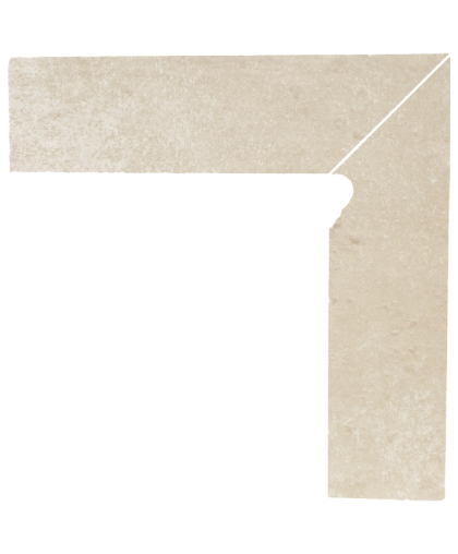 Котто / Cotto Crema Skirting Right (цоколь правый) 300 x 81