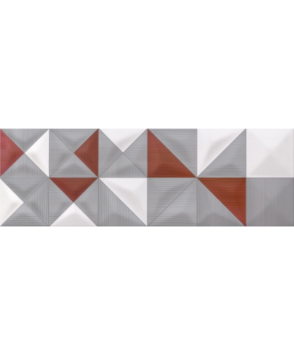 Деликат лайнс / Delicate lines multicolor inserto geo 750 х 250