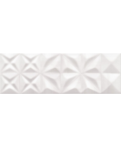 Деликат лайнс / Delicate lines white glossy structure 750 х 250