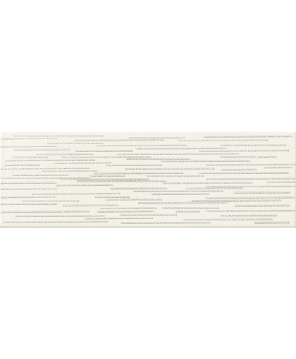 Бурано / Burano Bar White D Inserto 237 x 78 (под заказ)