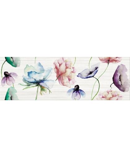 Элегант Стрипс / Elegant Stripes inserto flower 750 х 250 (под заказ)