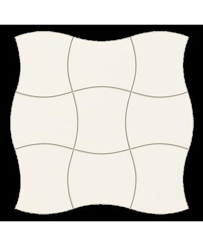 Роял плэйс / Royal Place white wall mosaic 293 х 293 (под заказ)