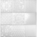 Эсенция / Esencia Relieve Blanco Brillo 300 x 100