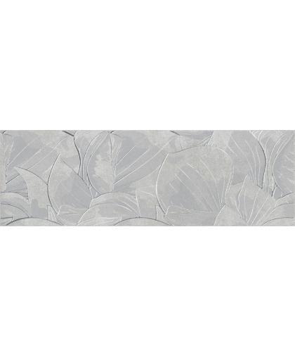 Фловер цементо / Flower Cemento Light Grey Inserto rekt. 740 х 240