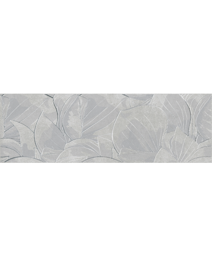 Фловер цементо / Flower Cemento Light Grey Inserto rekt. 740 х 240 (под заказ)