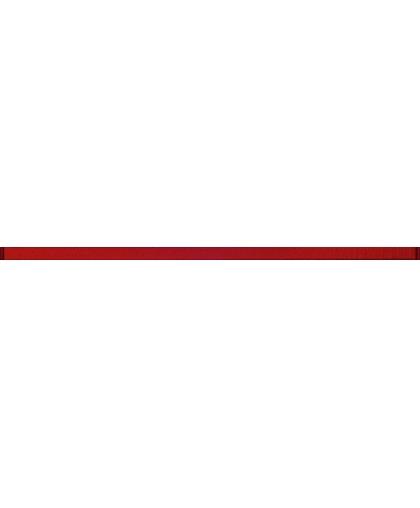 Glass red border 20 х 600