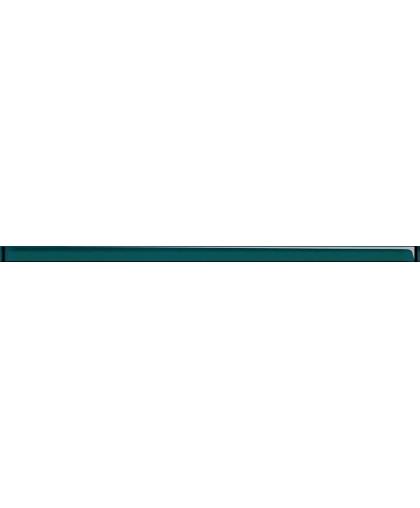 Glass turquoise border 750 х 30