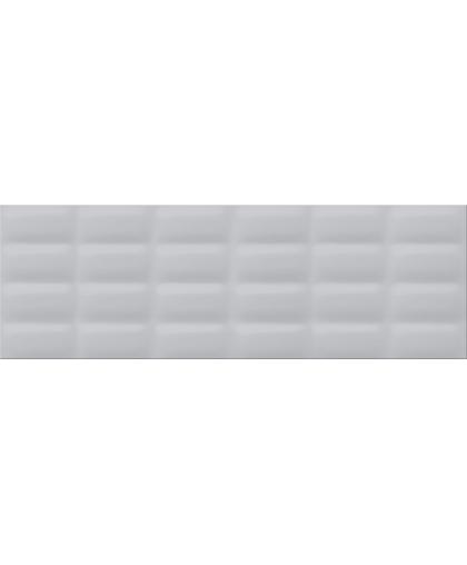 Grey glossy pillow 750 х 250