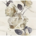 Каррара / Carrara Flower Inserto (2 плитки) 580 х 593