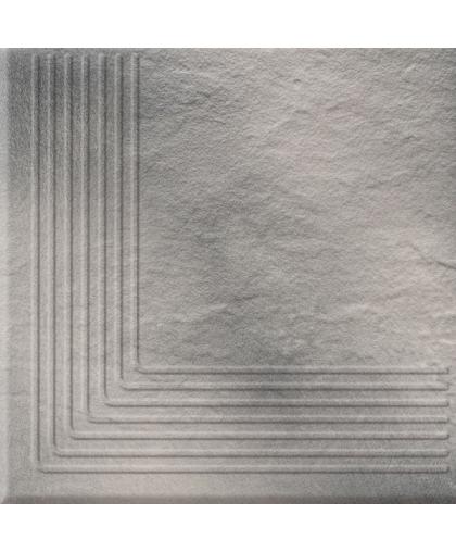 Солар / Solar grey 3D steptread corner 300 х 300