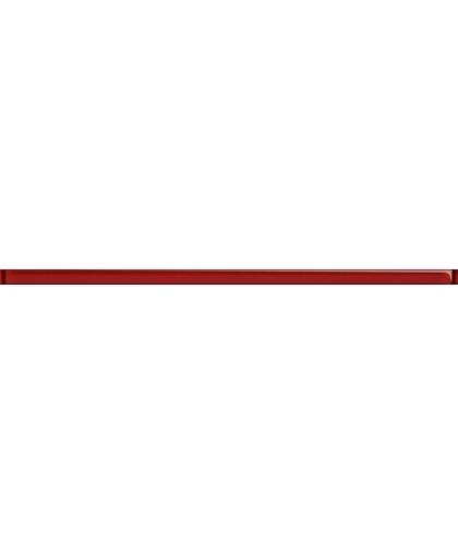 Universal Glass Red Listwa 600 x 20