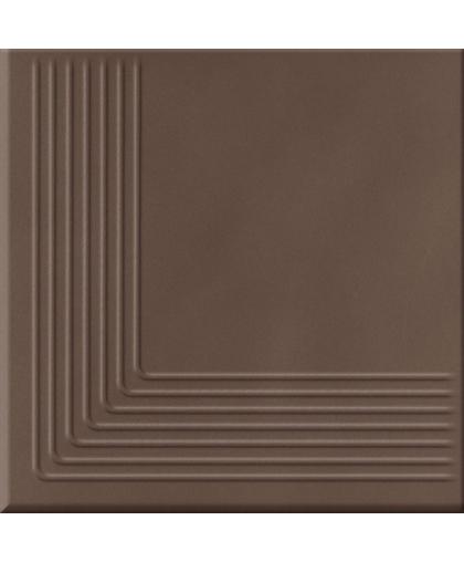 Лофт / Loft brown steptread corner 300 х 300