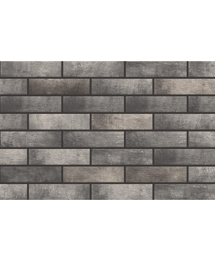 Лофт брик / Loft Brick Pepper fasad tile (фасадная) 245 х 65