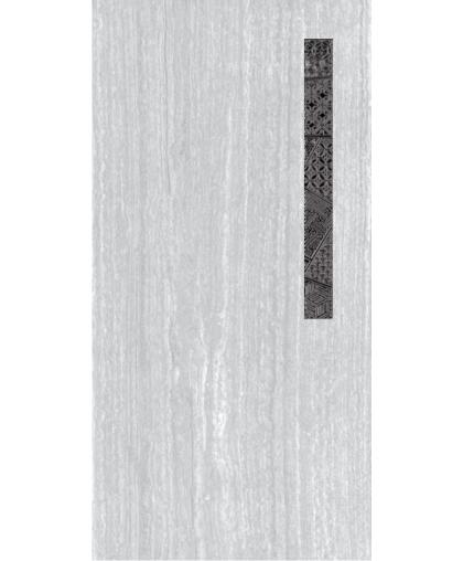 Манхеттен / Manhetten Вставка 1 серая 600 х 300