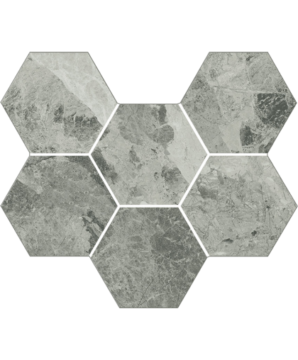 Шарм Экстра Силвер / Charme Extra Silver Mosaico Gexagon 290 х 250