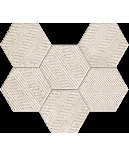 Сфумато / Sfumato Hexagon Mosaic 289 х 221 (под заказ)
