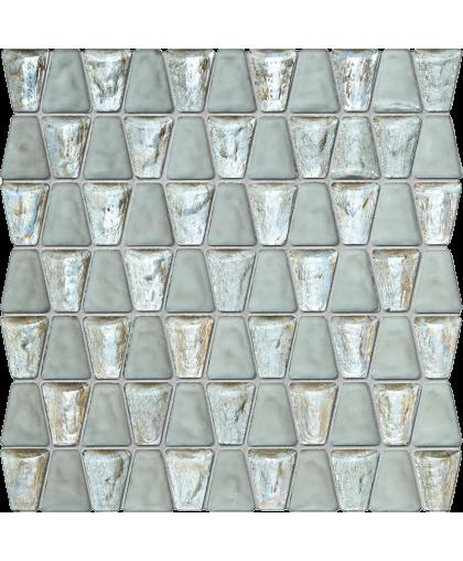 Дропс / Drops glass white mosaic 306 х 304 (под заказ)