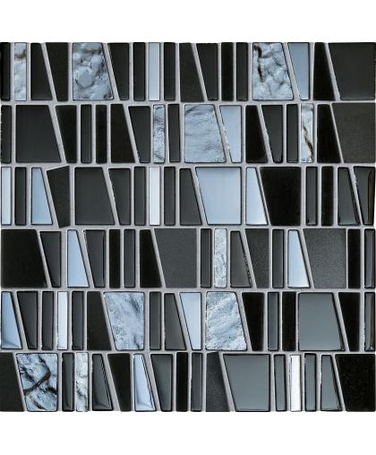 Дропс / Drops stone grey mosaic 300 х 300 (под заказ)