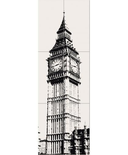 Пикадилли / Piccadilly Big Ben 1 set of 6 elements 1798 х 598 (под заказ)