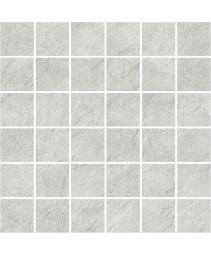 Петра / Pietra Light Grey mosaic (универсальная) 297 х 297