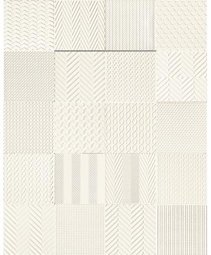 Элементари / Elementary patch white STR rekt. 148 х 148 (под заказ)