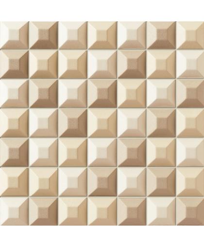 Элементари / Elementary cream wall mosaic 314 х 314 (под заказ)