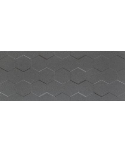 Элементари / Elementary graphite hex STR rekt. 748 х 298 (под заказ)