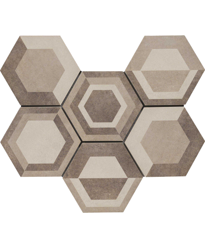 Ревинд / Rewind Decoro Geometrico Corda (R4DU) 210 х 182