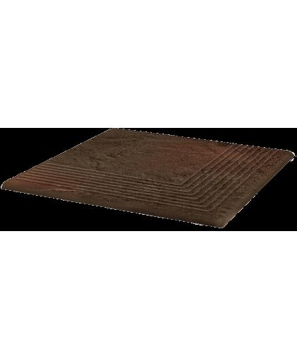 Семир / Semir Brown steptread corner 300 х 300