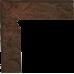 Семир / Semir Brown skirting left (цоколь левый) 300 x 81