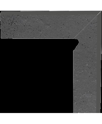 Семир / Semir Grafit  skirting right (цоколь правый) 300 x 81