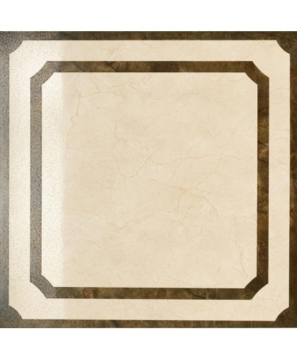 Шарм / Charme Cream Inserto Frame lappato rekt. 600 х 600