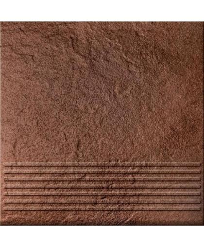 Солар / Solar коричневый ступень 3д 300 х 300