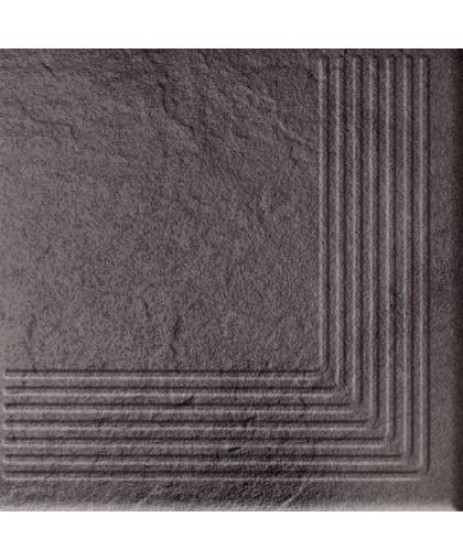 Солар / Solar графит ступень наружная 3д 300 х 300