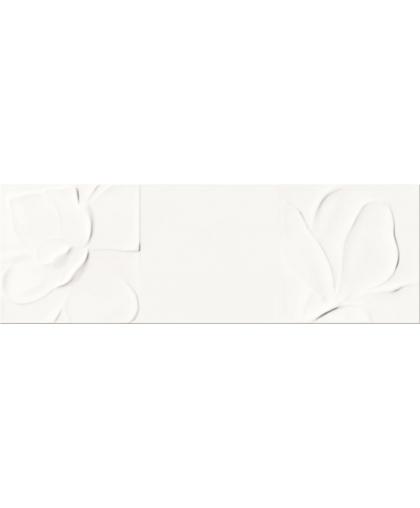 Структур паттерн / Structure pattern white flower structure 750 х 250