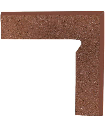 Таурус / Taurus Brown skirting right (цоколь правый) 300 x 81 (под заказ)