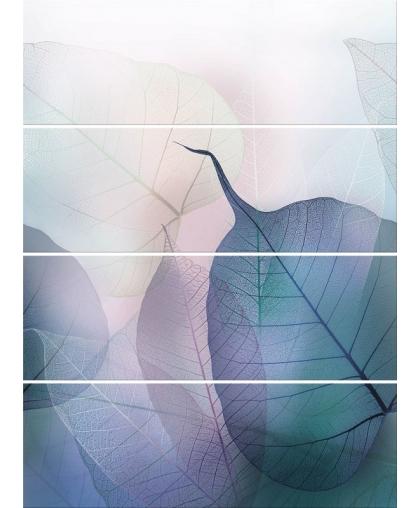 Вивид колорс / Vivid Colors Composition комплект из 4 плиток 750 х 1000