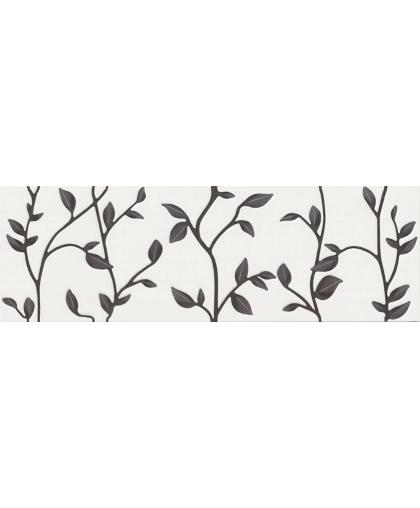 Winter Vine White Inserto Floral rekt. 890 х 290