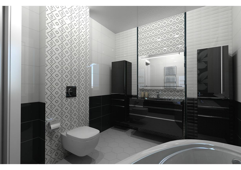 Рендер общего вида ванной комнаты